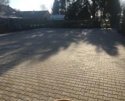Bestrating terrein in Gorredijk