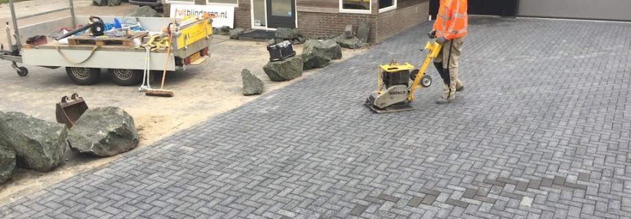 Bestraten bedrijfsterrein Gorredijk