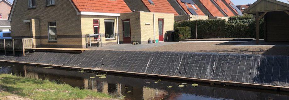 Volledige tuinaanleg in Gorredijk